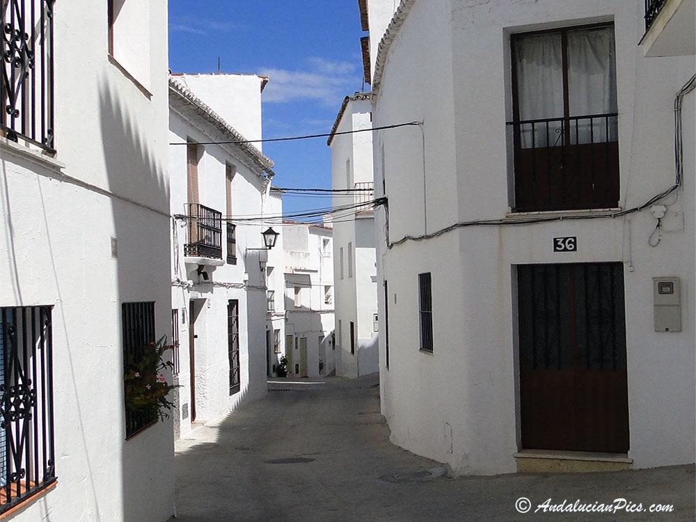 Ojen White Village over Marbella