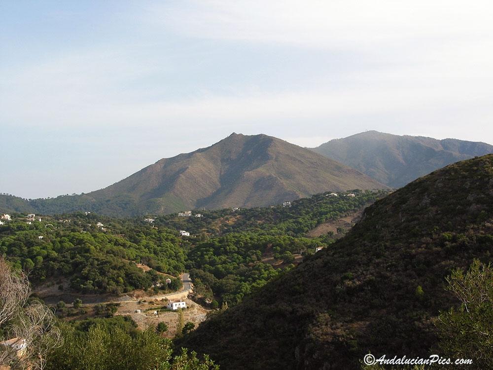 Casares White Village landscape