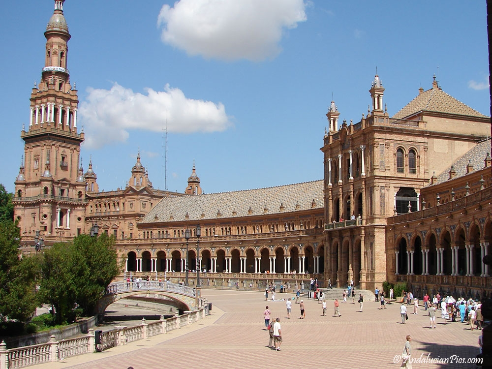 Sevilla Spain square