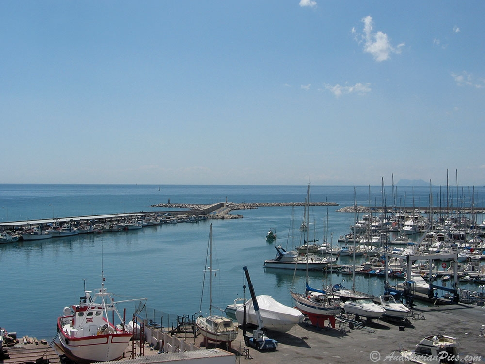 Estepona Port from the east side