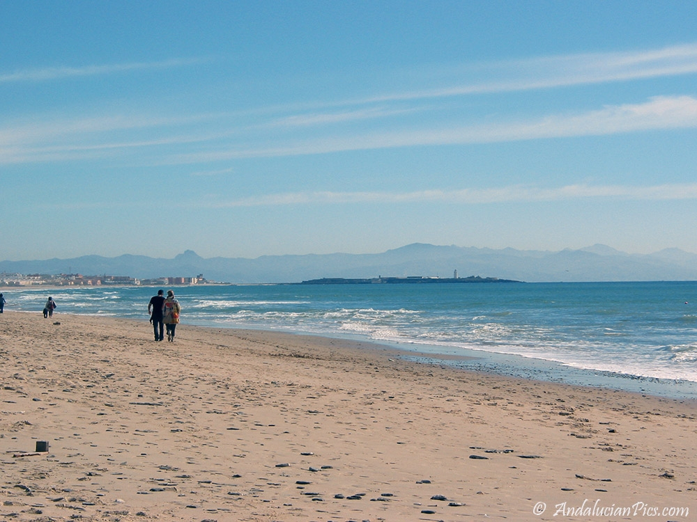 Tarifa Beaches winter time