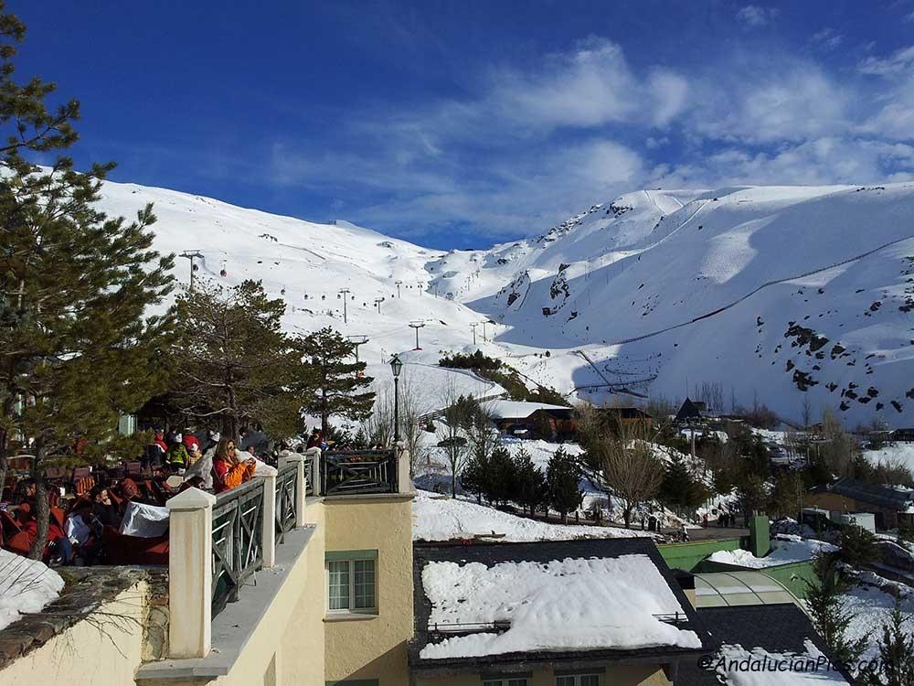 Ski Station Sierra Nevada