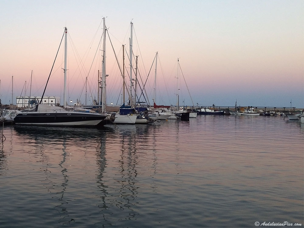 Estepona Marina Sunset