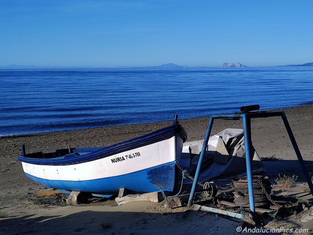 Fishing Boat Rada Beach Estepona