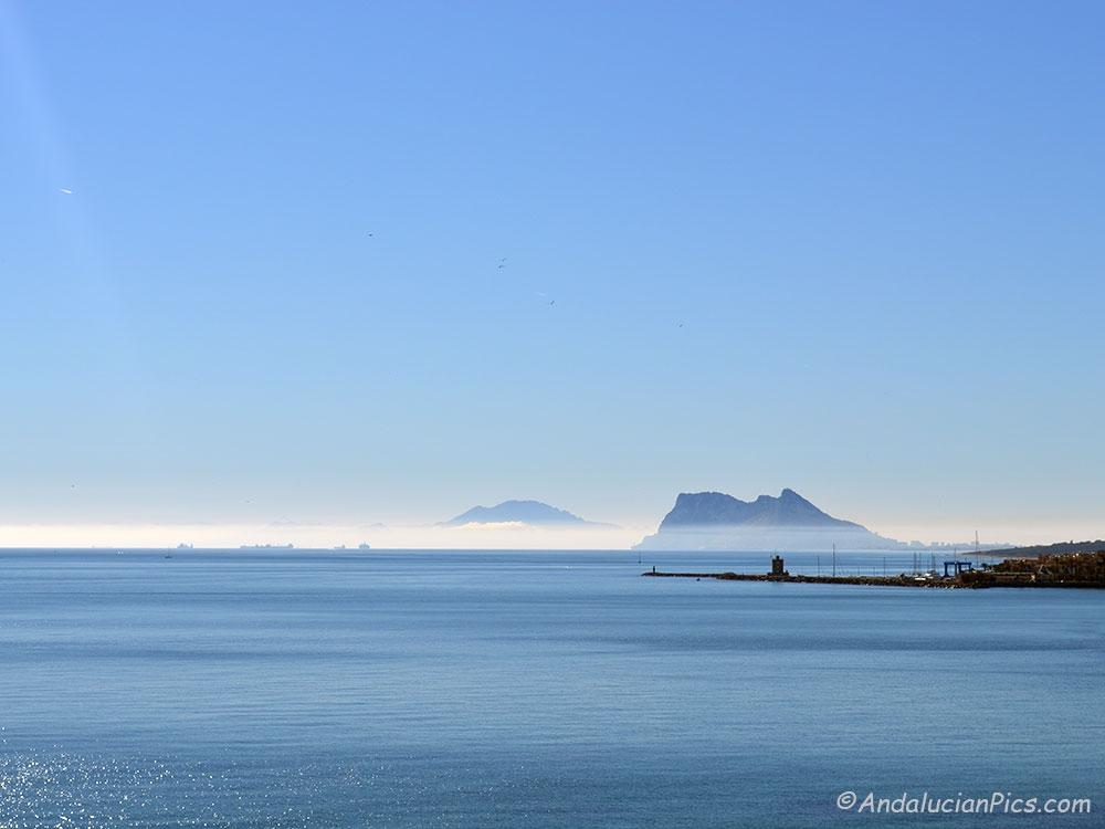 Gibraltar depuis Sotogrande