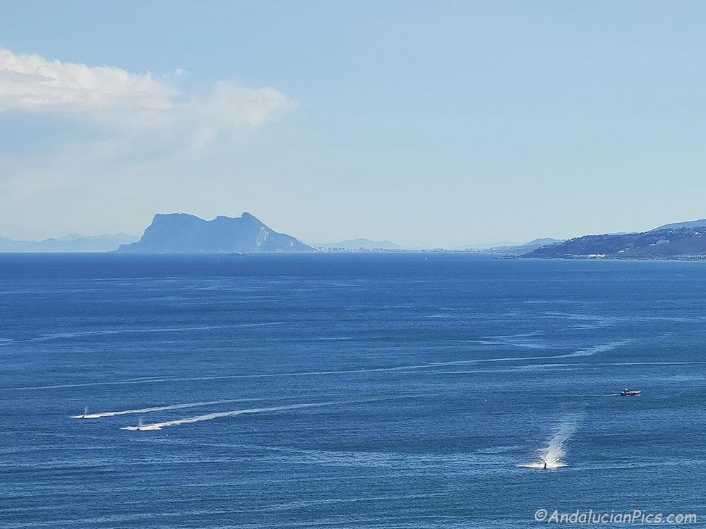 Gibraltar from Estepona