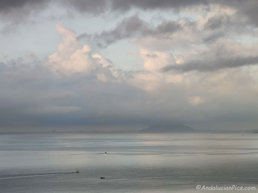 Gibraltar depuis Estepona