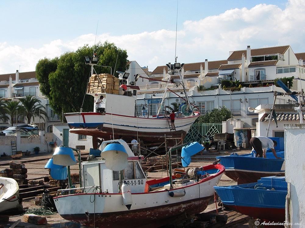 Atelier du port de peche Estepona