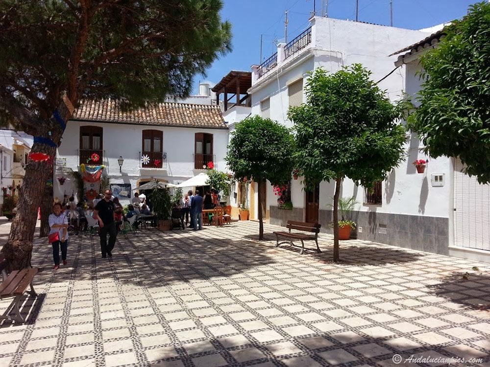 Near Calle Casares