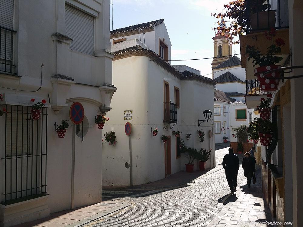 La vieille ville Estepona