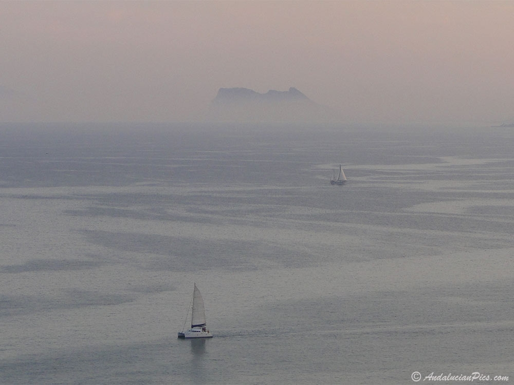 Catamaran and Gibraltar