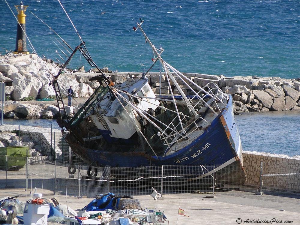 Old boat Estepona