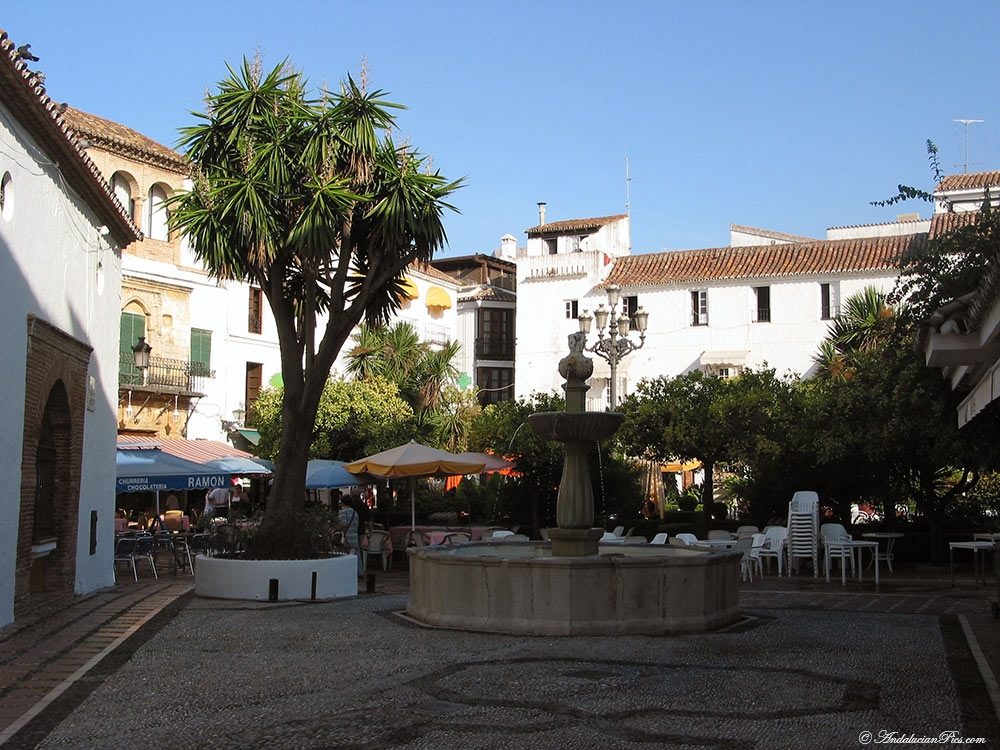 Marbella place des oranges