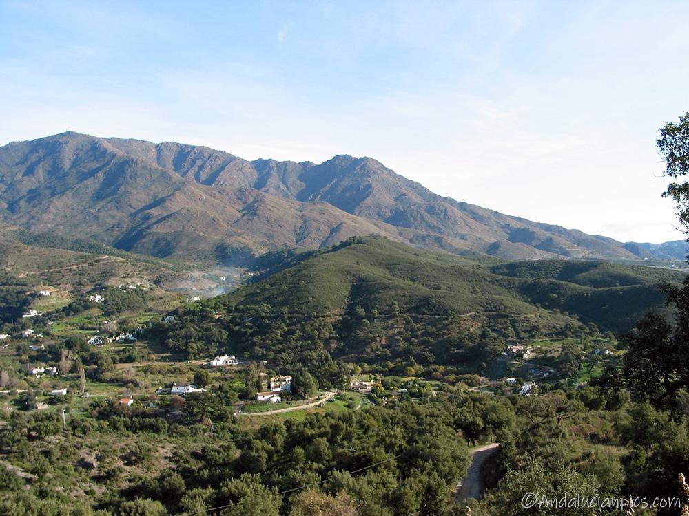 Les montagnes Manilva